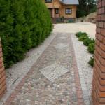 Mozaika z kamienia polnego